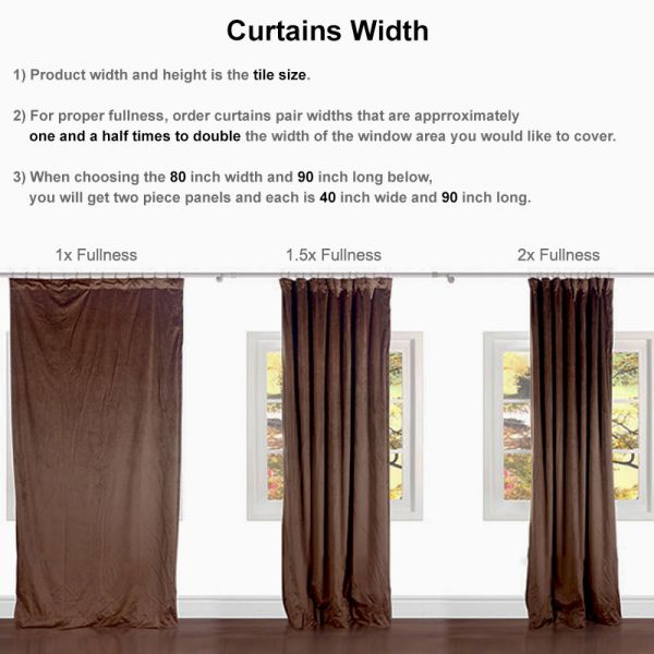 3d Print Flowers And Birds Blackout, What Size Curtains For Sliding Glass Doors